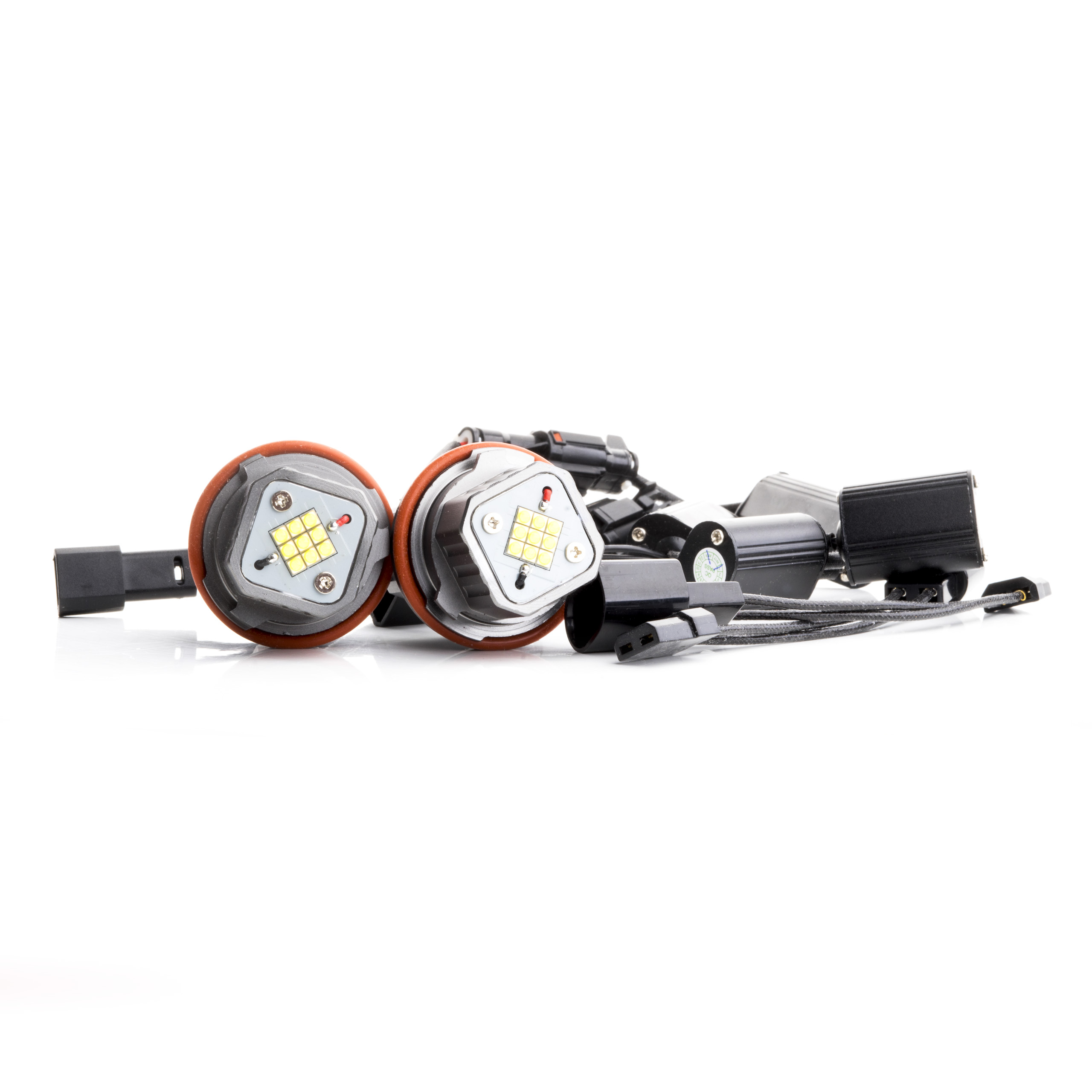 LED Markery 2 x 80W (OSRAM) do kroužků BMW 7 E65/E66 (2002-2008)