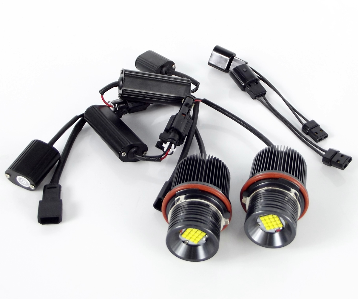 LED Markery 2 x 80W (CREE) do kroužků BMW X3 E83 FL (2006-2010)